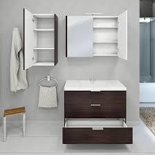 waschtische badmöbel set curve 106 v3 mdf weiß waschtisch