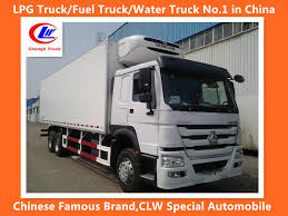 China Sinotruk HOWO 6X4 371HP Refrigerated Truck Refrigerator Truck ...