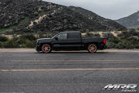 Lowered Silverado Performance Truck On Gold M228 Rimsmrr — Carid ...