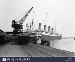 Rms Olympic Sinking U Boat by White Star Line Stock Photos U0026 White Star Line Stock Images Alamy