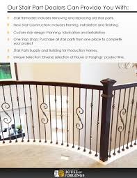 Ideas Of House Of Forgings Is A National Distributor Of High ... Iron Stair Parts Wrought Balusters Handrails Newels And Stairs Amusing Metal Railing Parts Extordarymetalrailing Banister Baluster Railing Adorable Modern Railings To Inspire Your Own Shop Kits At Lowescom Stainless Steel Our 1970s House Makeover Part 6 The Hardwood Entryway Copper Home Depot Model Staircase Metal Spindles For High Quality Neauiccom 24 Best Craftsman Style Remodeling Ideas Images On This Deck Stair Was Made Using Great Skill Modular