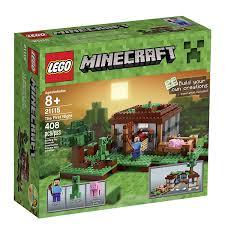Minecraft Bedding Walmart by Amazon Com Lego Minecraft 21115 The First Night Toys U0026 Games