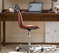 Pottery Barn Office Desk Chair by Mitchell Swivel Desk Chair Pottery Barn With Regard To Awesome