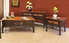 Cordoba Copper Table Top Set