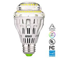 sansi a19 17w 150watt equivalent led light bulbs dimmable