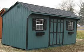6x8 quaker wood shed kit