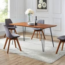 60 Hairpin Leg Dining Table