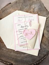 Custom Listing 20 Rustic Wedding Invitation LaserCut Invitations Pink Sate Love
