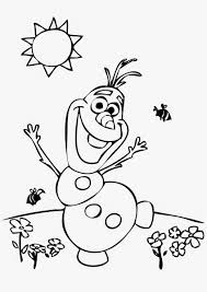 Olaf Coloring Pages For Funny Draw
