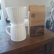 STARBUCKS Pour Over Coffee And Filter