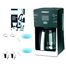 How To Clean Cuisinart Coffee Pot Realistic Cup Maker Manual Rh Maknasehat Info