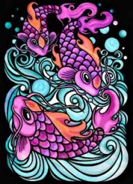 Andrea Spencer Bradbury 18 Division From Japanese Tattoo Art Stained Glass Coloring Book