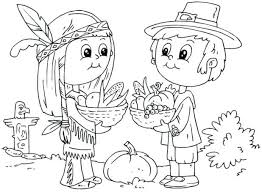 Printable Thanksgiving Coloring Pages For Adults Free Preschoolers Pilgrim Printab