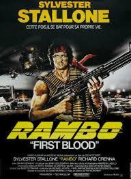 rambo wall print poster poster 1982 61900