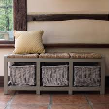 Bench Country Style Hall Storage Ideal Home Show Shop Way Benches Decor Office Halloween Fall Rustic Decorators Outlet Theater Decore Fabric