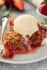 erdbeer rhabarber kuchen rezept einfaches und