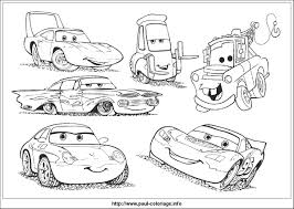 Cars Coloring Pages 2 Francesco Pixar Free Disney Full Size