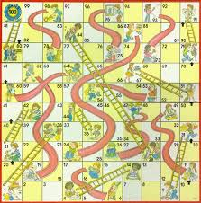 Life Is Like A Game Of Chutes Ladders