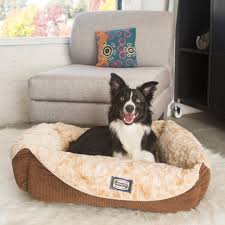 Serta Orthopedic Dog Bed by Simmons Regal Dream Plush Cuddler Pet Bed Free Shipping On