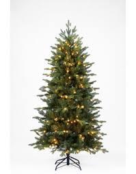 6ft Slim Black Christmas Tree by Buy Slim U0026 Pre Lit Slimline Artificial Christmas Trees