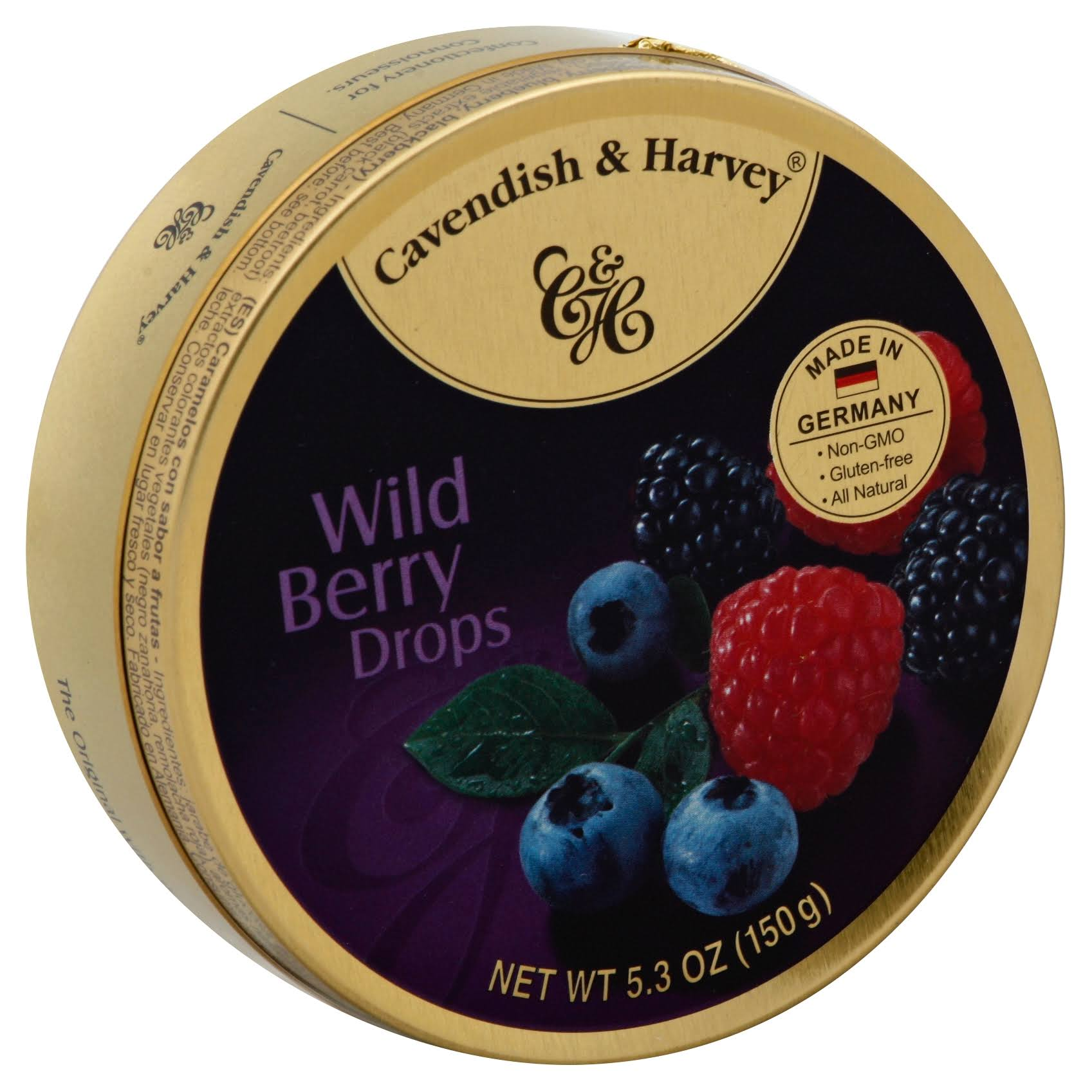 Cavendish & Harvey Drops - Wild Berry, 150g