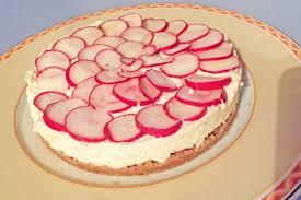 pikanter radieschen cheesecake mit brunch frischkäse ohne backen