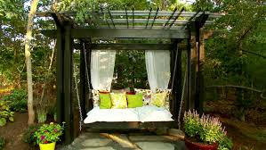 Pergola Designs & How To Build A Pergola | HGTV Make Shade Canopies Pergolas Gazebos And More Hgtv Decks With Design Ideas How To Pick A Backsplash With Best 25 Ideas On Pinterest Pergola Patio Unique Designs Lovely Small Backyard 78 About Remodel Home How Build Wood Beautifully Inspiring Diy For Outdoor 24 To Enhance The 33 You Will Love In 2017 Pergola Dectable Brown Beautiful Plain 38 And Gazebo