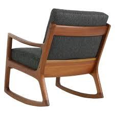 1960s Danish Modern Rocking Chair 'Senator' By Ole Wanscher, Midcentury  Modern