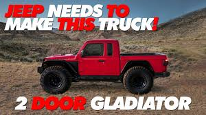 100 4 Door Jeep Truck Making A 2 Gladiator Pickup In Photoshop Time Lapse