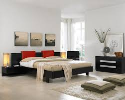 Modern Bedroom Design within Asian Style Home Interior Design
