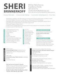 Interior Design Resume Sample For Designer Consultant