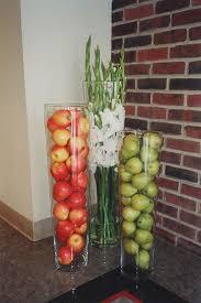 Fruit In Vase Kitchen Cabinets DecorCabinet