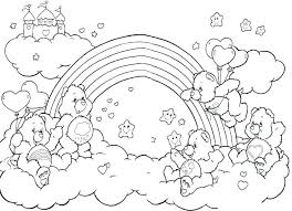 Rainbow Color Page Printable For Kids Rainbows Coloring Pages Dash