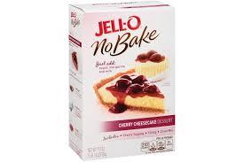Jell O No Bake Cherry Cheesecake Dessert Mix 17 8 Oz Box