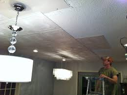 Styrofoam Glue Up Ceiling Tiles by Painted Ceiling Tiles Fascinating Faux Tin Ceiling Tiles With