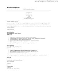 Resume For Medical Coder Coding And Billing Objectives Sample Functional