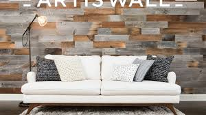 100 Walls By Design Artis Wall Removable Reclaimed Wood Accent By Will Kimmerle