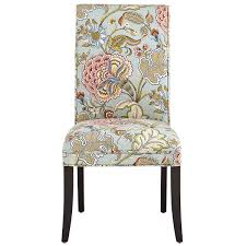 Pier One Parsons Chair by Angela Blue Floral Dining Chair Dining Chairs And Soft Furnishings
