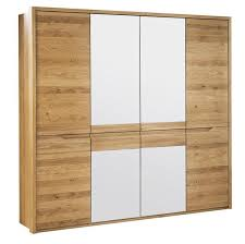 schlafzimmer schrank wildeiche massiv natur 209x206x63 cm