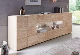 lc sideboard miro breite 241 cm mit dekorativem siebdruck kaufen otto
