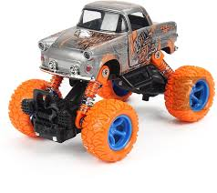 Jack Royal Bigfoot 4*4 Diecast Pullback Car (Scorpion-grey ...