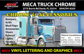 Meca Chrome At FL 595 Truck Stop Launches Blog | Meca Truck Chrome ...
