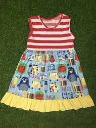 popular kids wear summer children boutique clothing back to