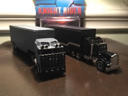 Custom Knight Rider Semi Truck AND Goliath Tractor Trailer -Retro ...