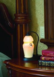 Aurora Candle Warmer Lamp by Candle Clocks