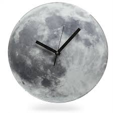 Light Up Moon Clock