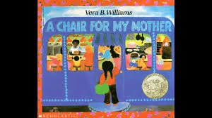 A Chair For My Mother By Vera B. Williams. Grandma Annii's Storytime