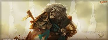wallpaper of the week ajani mentor of heroes magic the gathering