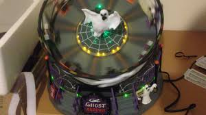 Lemax Halloween Village Ebay by Lemax Spooky Town Ghost Around Youtube