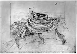 100 Frank Lloyd Wright Sketches For Sale Automobile Objective By Dwell